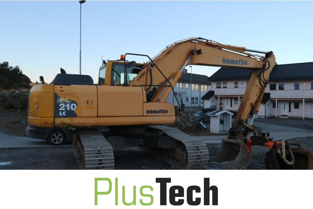 Komatsu Pc 210lc 8k For Sale Plustech As Now Have This